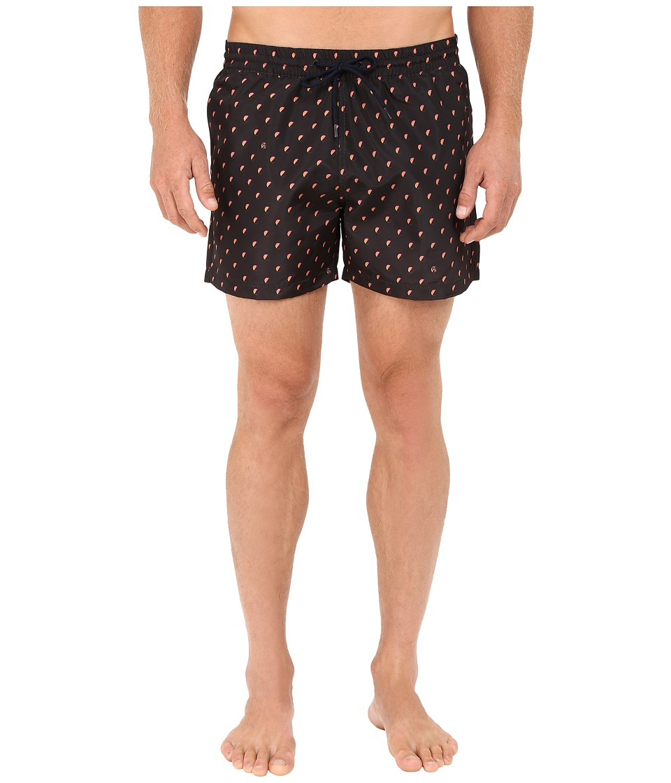 Paul Smith - Classic Swim Shorts (Black Multi) Men's Swimwear