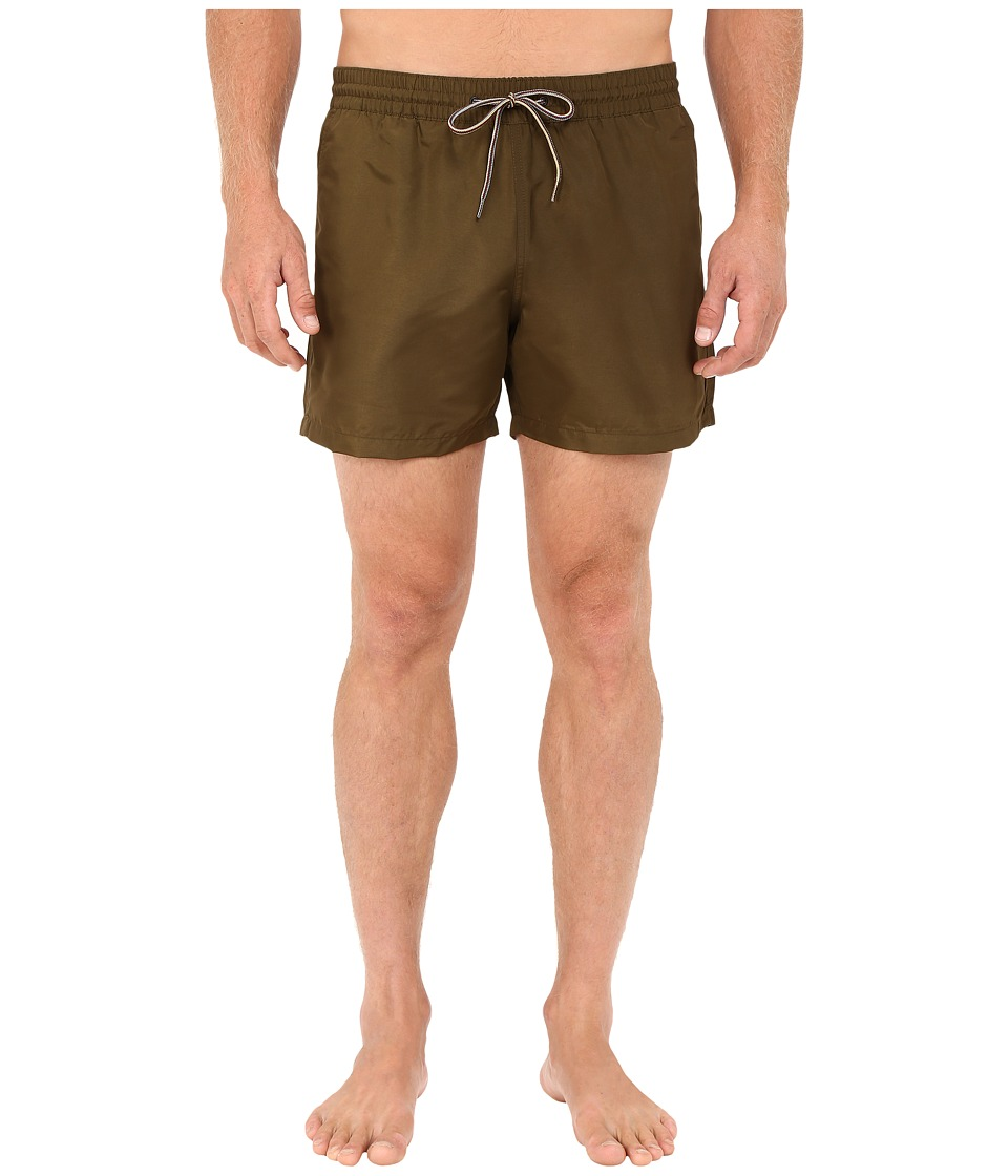 Paul Smith - Classic Swim Shorts (Olive) Men's Swimwear