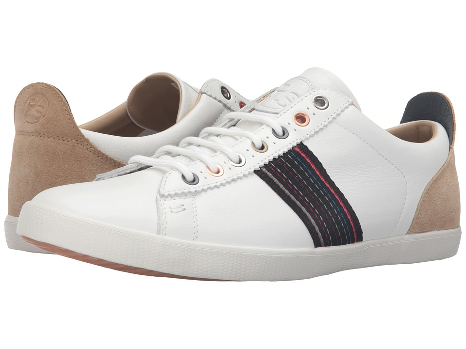 Paul Smith - Osmo Sneaker (White) Men's Lace up casual Shoes