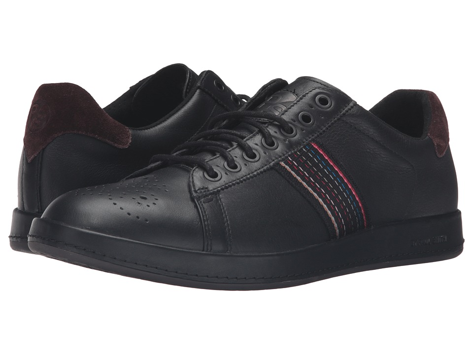 Paul Smith - Rabbit Mono Lux Sneaker (Black) Men's Shoes