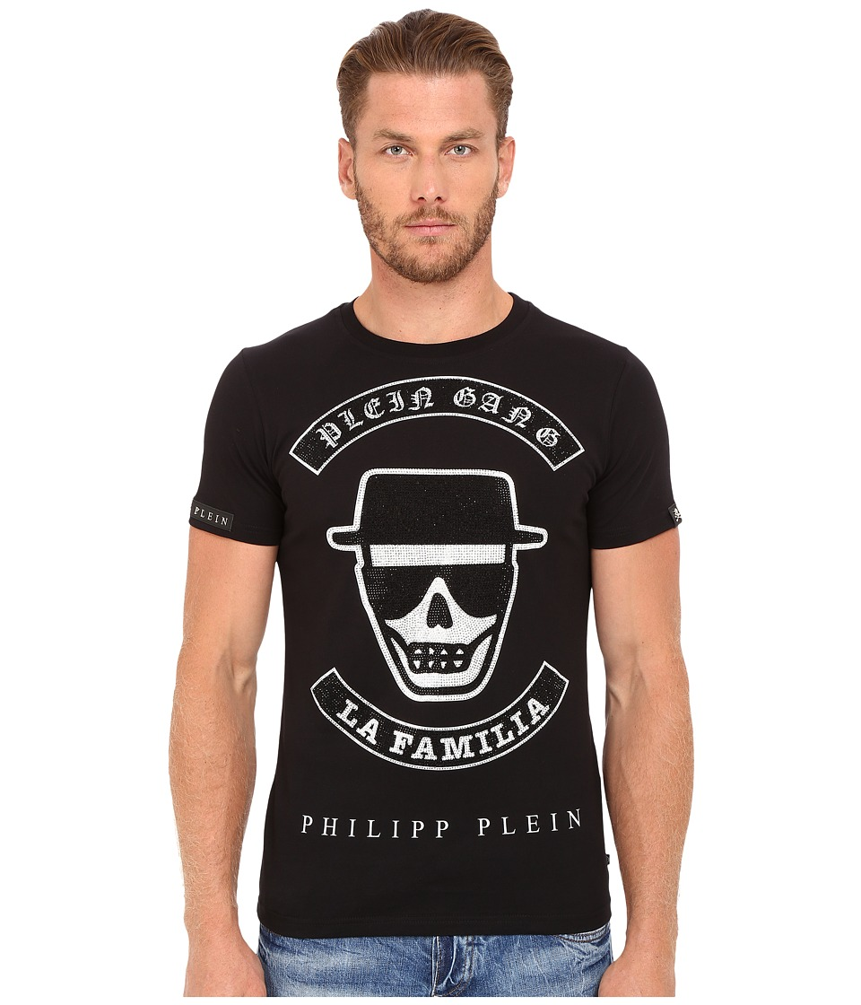 Philipp Plein - Plein Gang T-Shirt (Black/White) Men's T Shirt