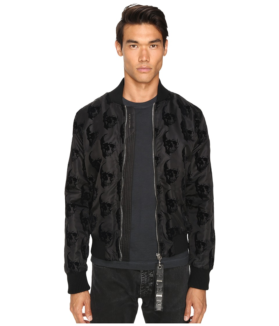 Philipp Plein - Think Sweat Jacket (Black) Men's Coat