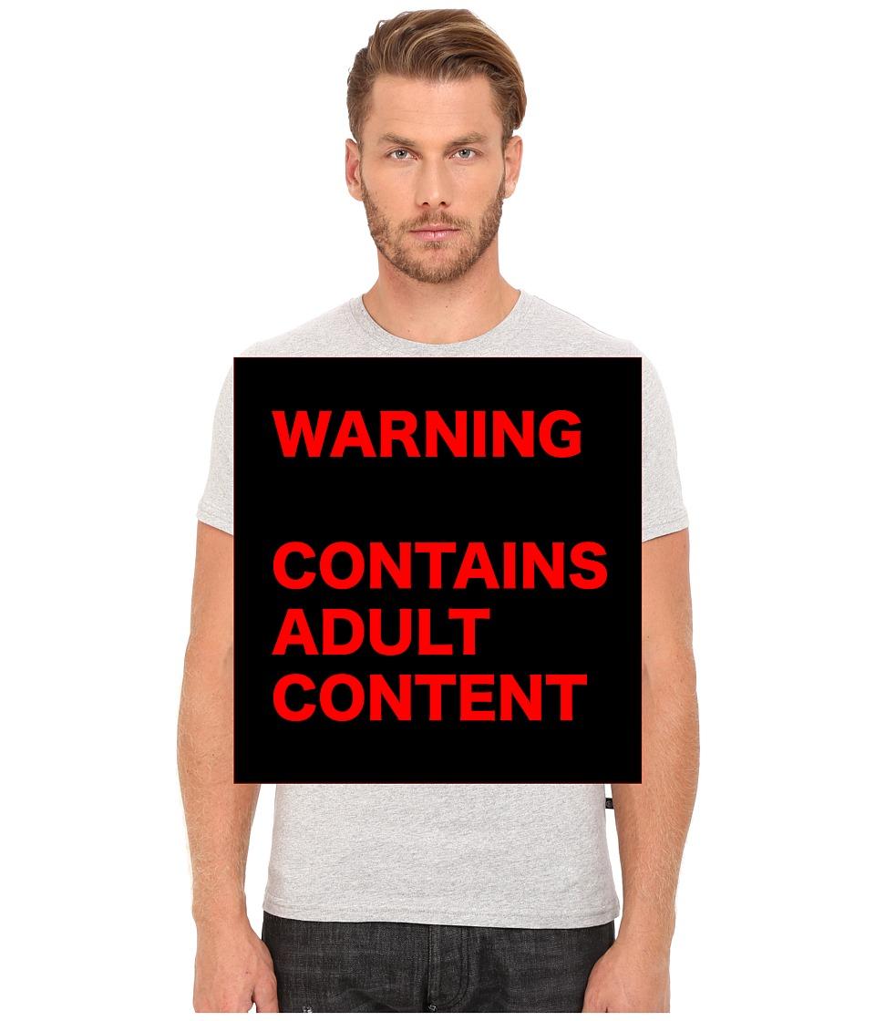 Philipp Plein - F****** Perfect T-Shirt (Grey Melange) Men's T Shirt