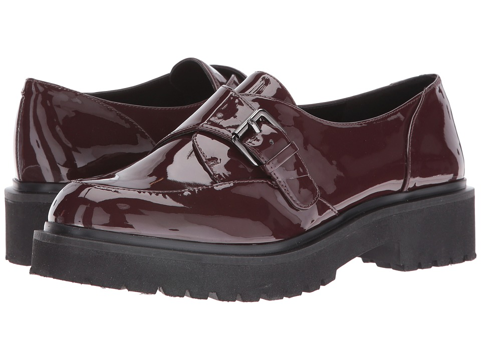 Nine West - Amber (Wine Synthetic) Women's Shoes