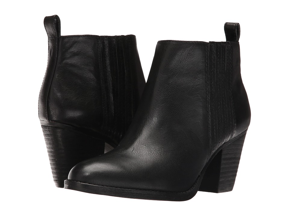 Nine West Fiffi (Black Leather) Women