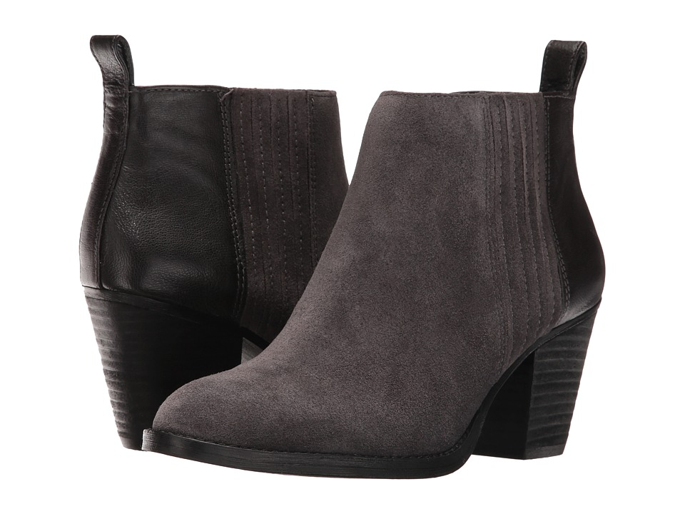 Nine West - Fiffi (Dark Grey/Dark Grey Suede) Women's Boots