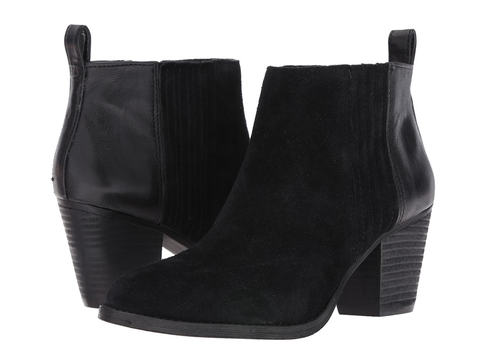 Nine West Fiffi (Black/Black Suede) Women