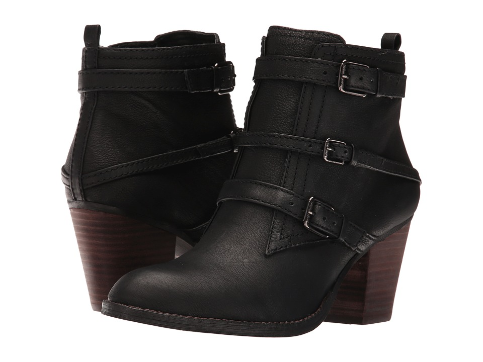 Nine West Fitz (Black Leather) Women