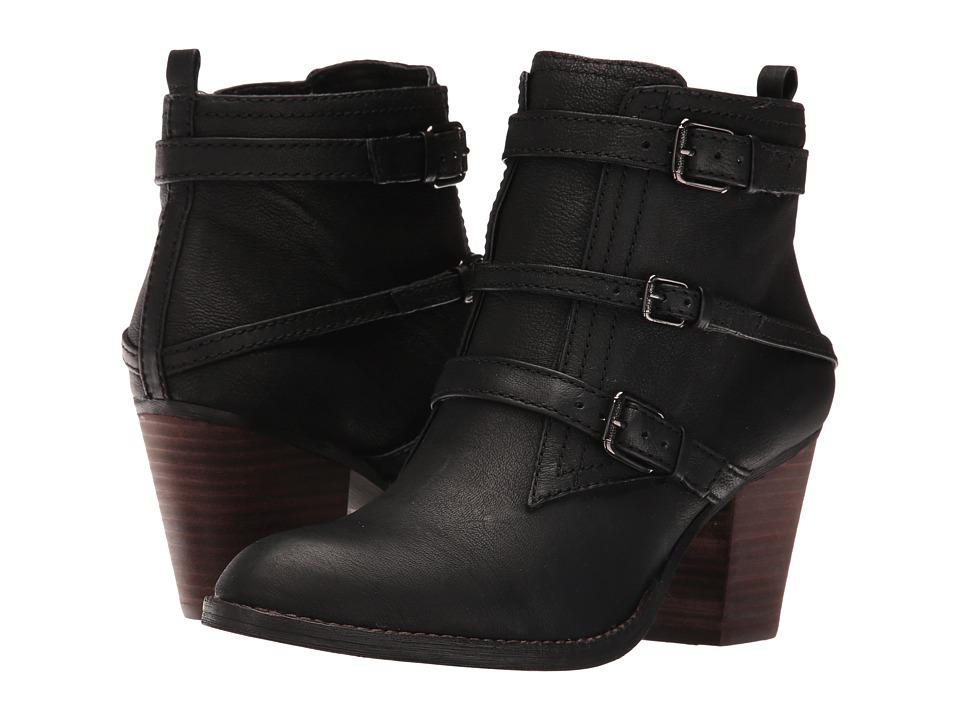 Nine West - Fitz (Black Leather) Women's Zip Boots