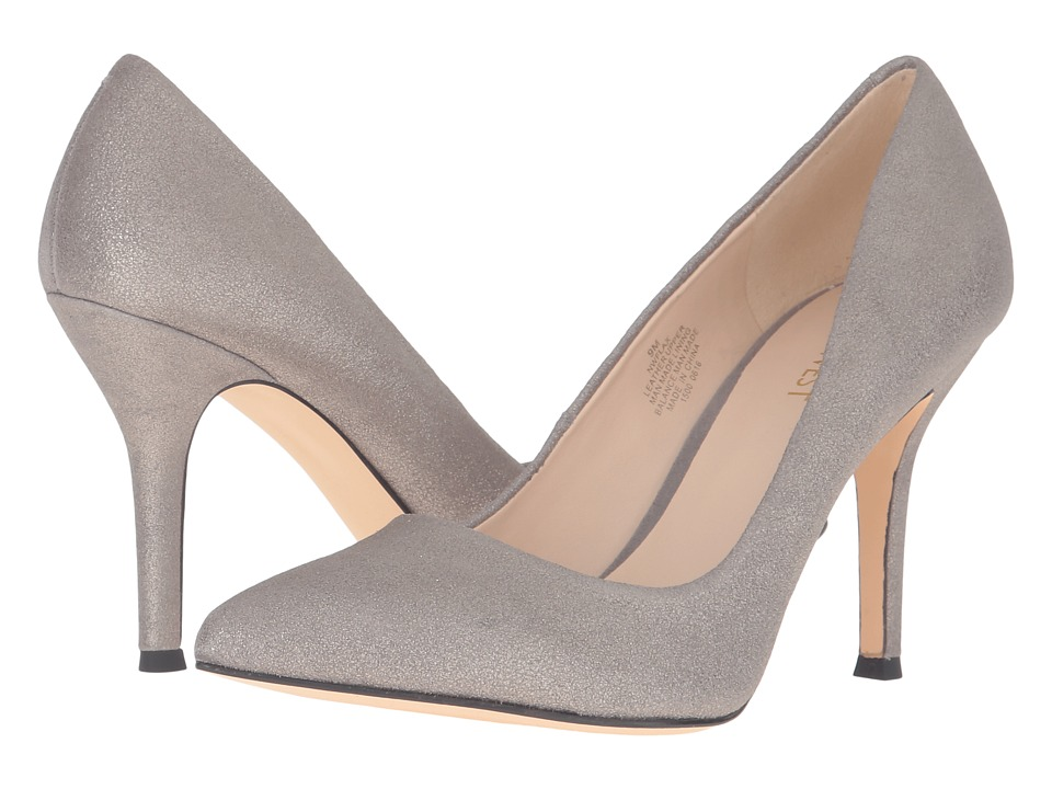 Nine West - Flax (Grey/Pewter Metallic) High Heels