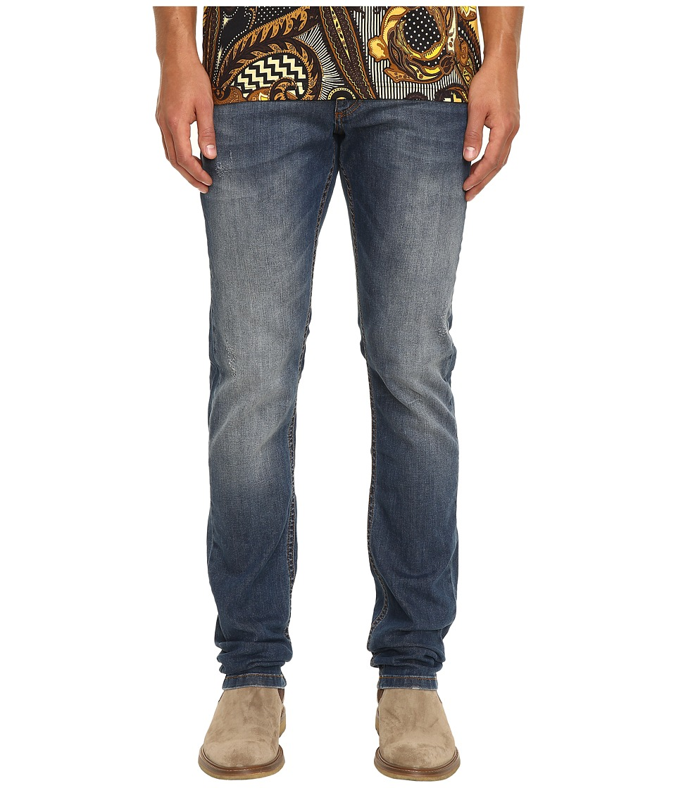Versace Jeans - Distressed Denim (Indigo) Men's Jeans