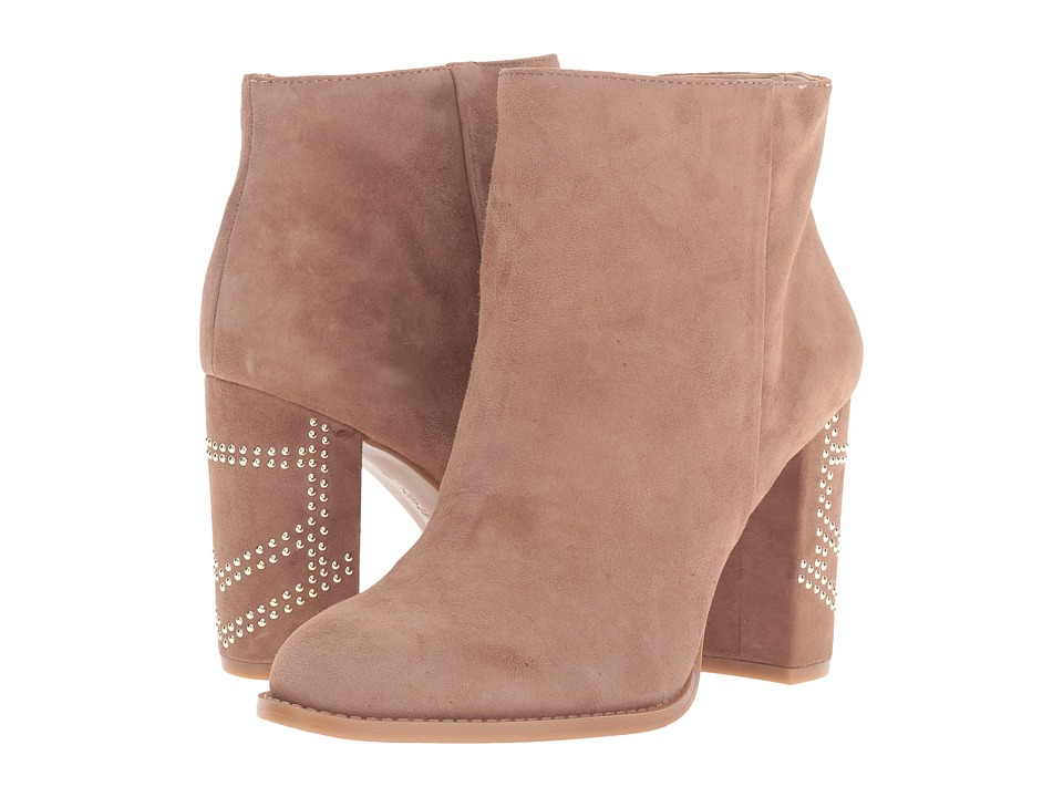 Nine West Qualinia Natural Suede Boots