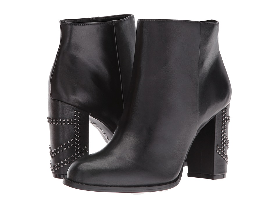 Nine West Qualinia (Black Leather) Women