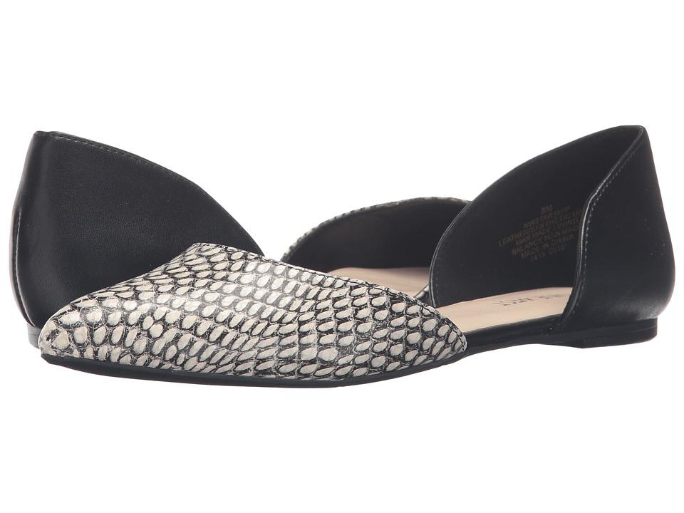 Nine West - Starship (Black/White/Black Leather) Women's Shoes