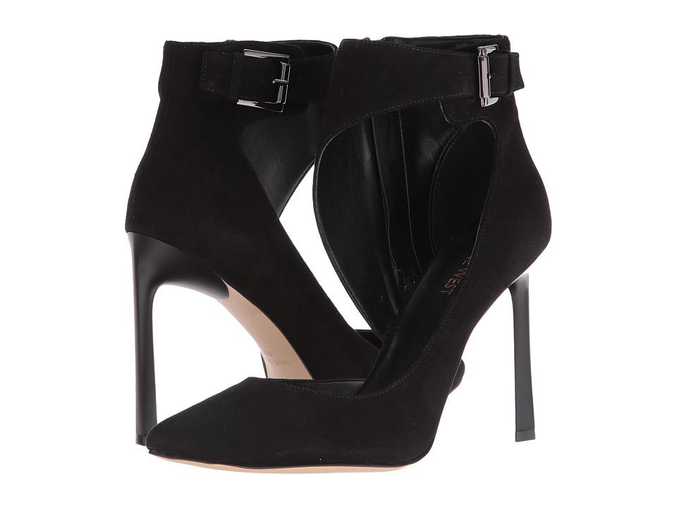 Nine West - Kresten (Black Suede) High Heels