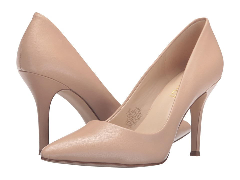 Nine West - Flax (Natural Leather) High Heels