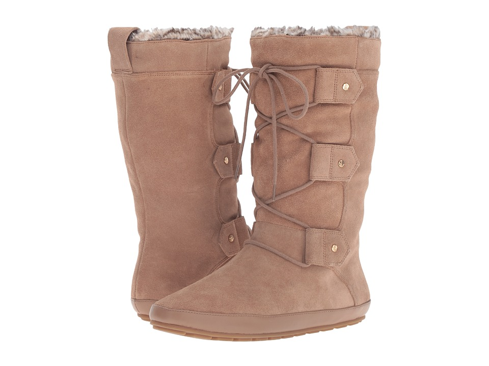 Nine West - Gellen (Natural/Natural Suede) Women's Boots