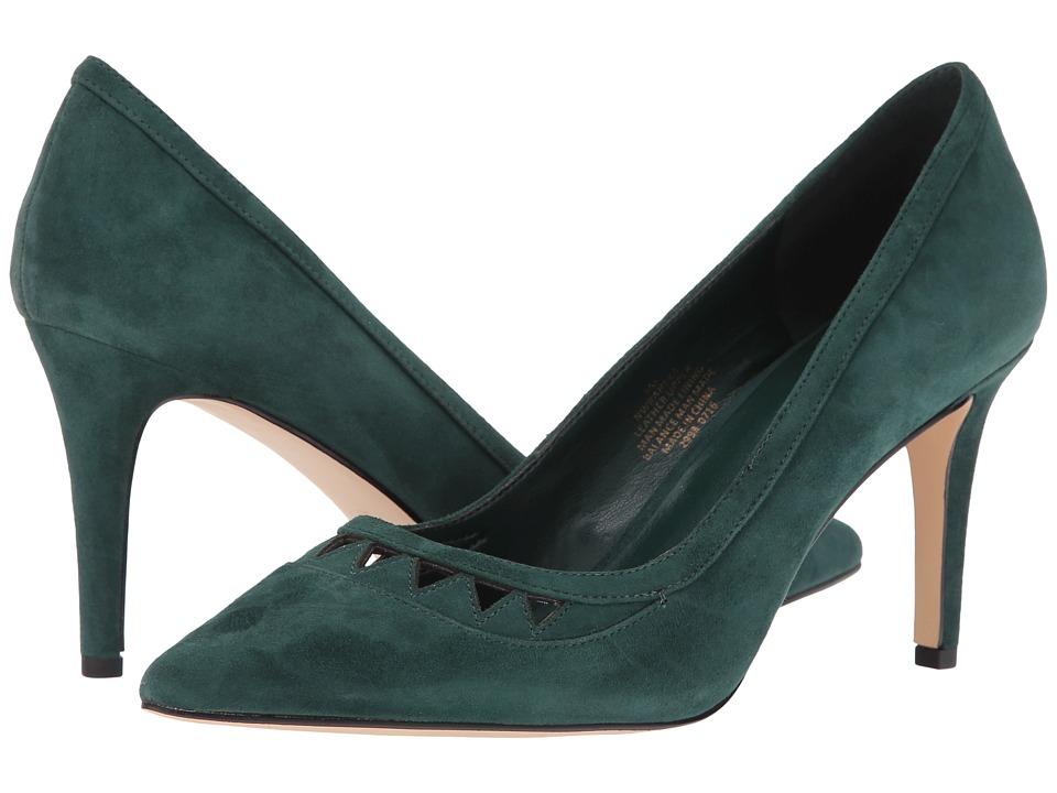 Nine West - Raheza (Dark Green Suede) Women's Shoes