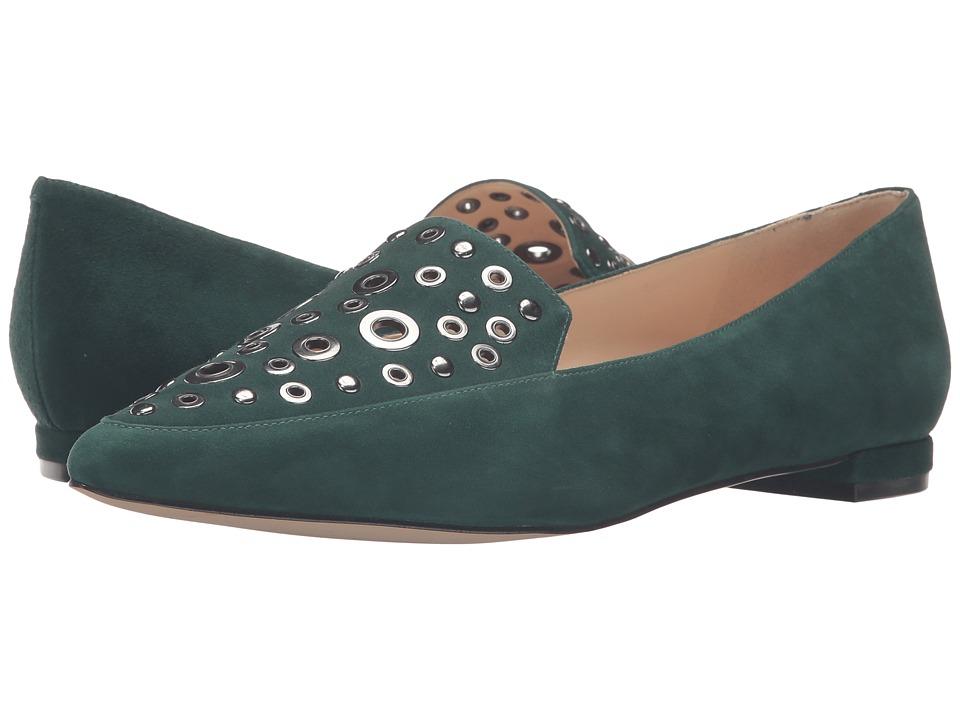Nine West - Akeelah (Dark Green Suede) Women's Shoes