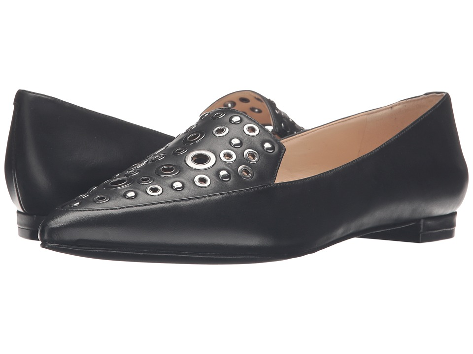 Nine West - Akeelah (Black Leather) Women's Shoes