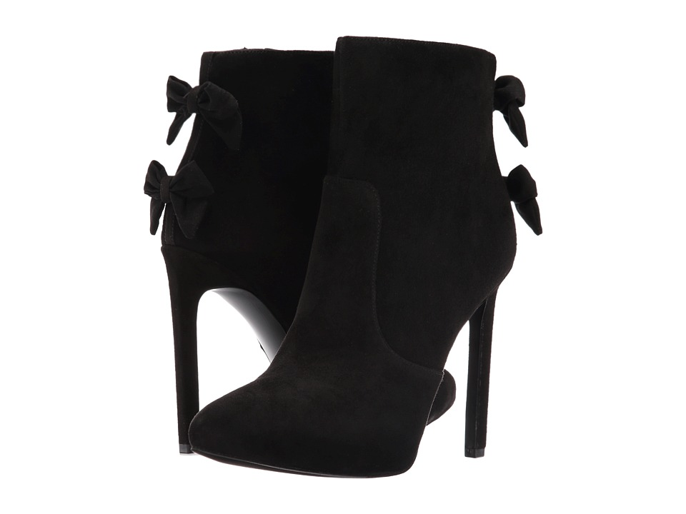 Nine West - Lateeri (Black Suede) High Heels