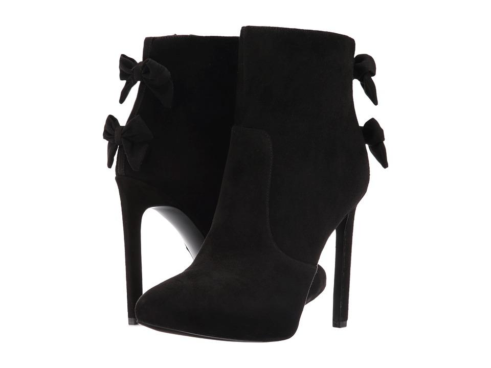 Nine West - Lateeri (Black Suede) High Heels