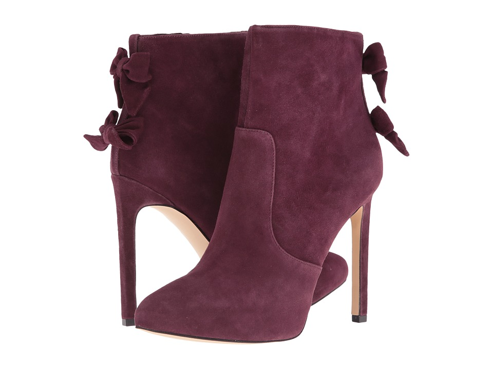 Nine West Lateeri Wine Suede High Heels