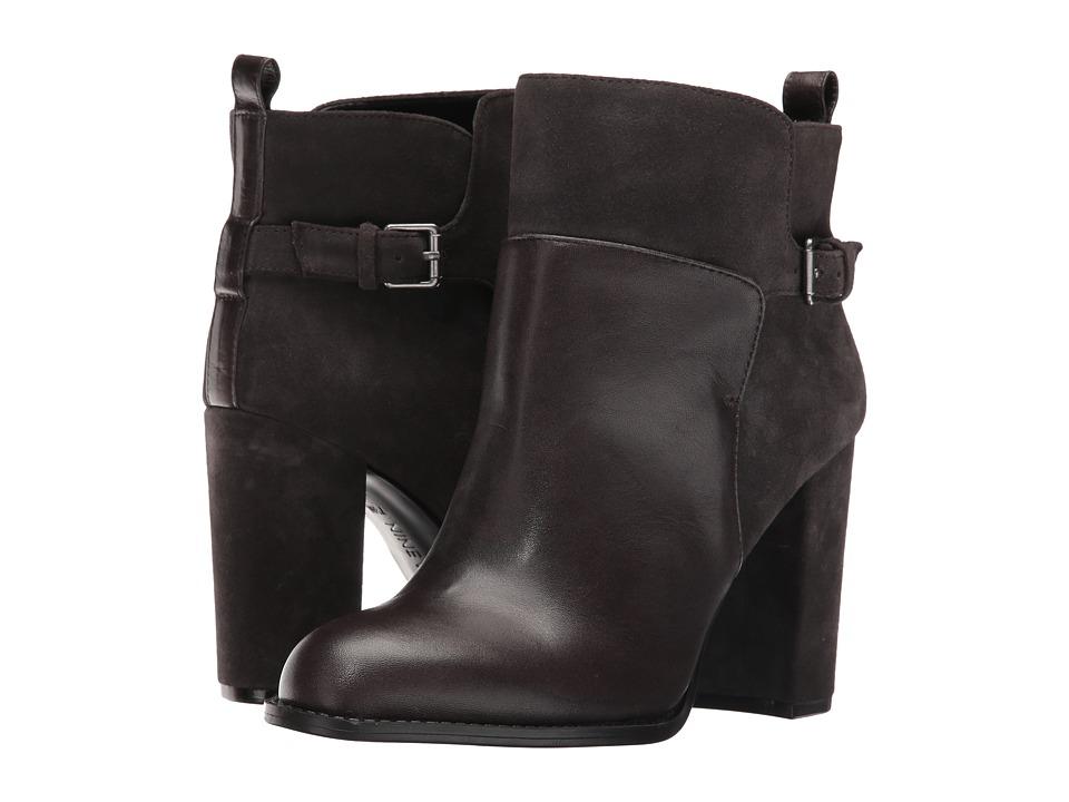 Nine West - Quinah (Dark Grey/Dark Grey Leather) Women's Shoes