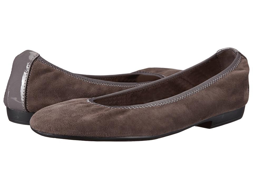 Nine West - Giovedi (Dark Grey/Dark Grey Suede) Women's Shoes