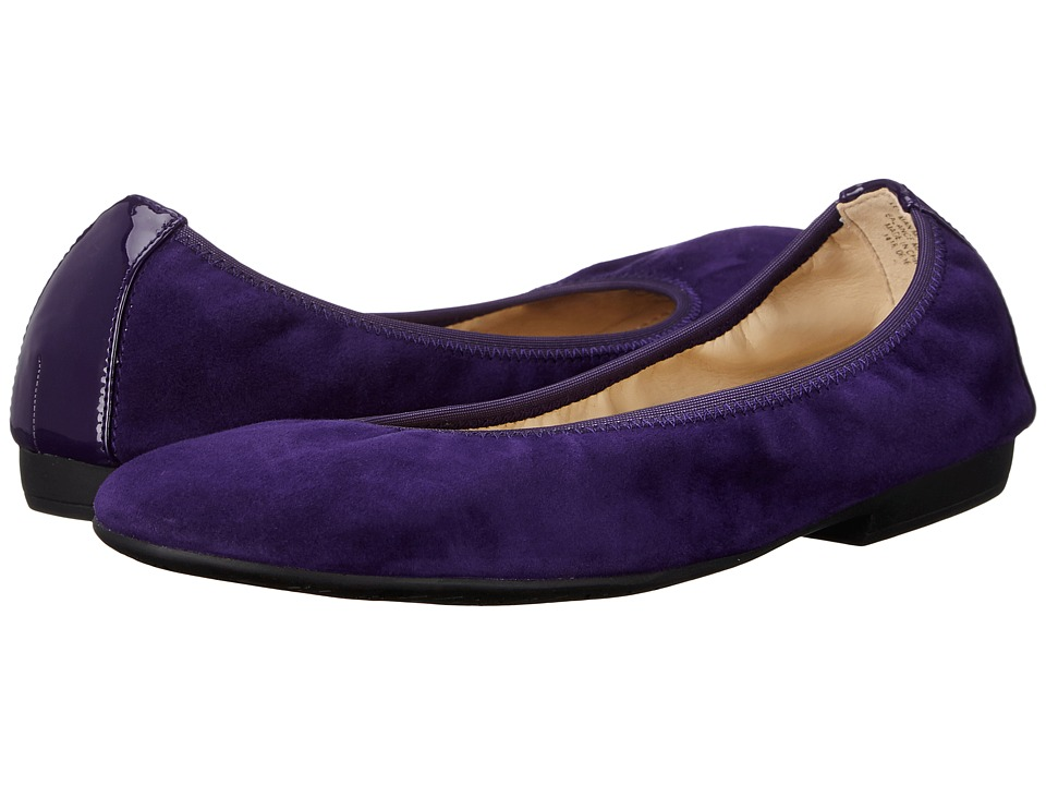 Nine West - Giovedi (Dark Purple/Dark Purple Suede) Women's Shoes