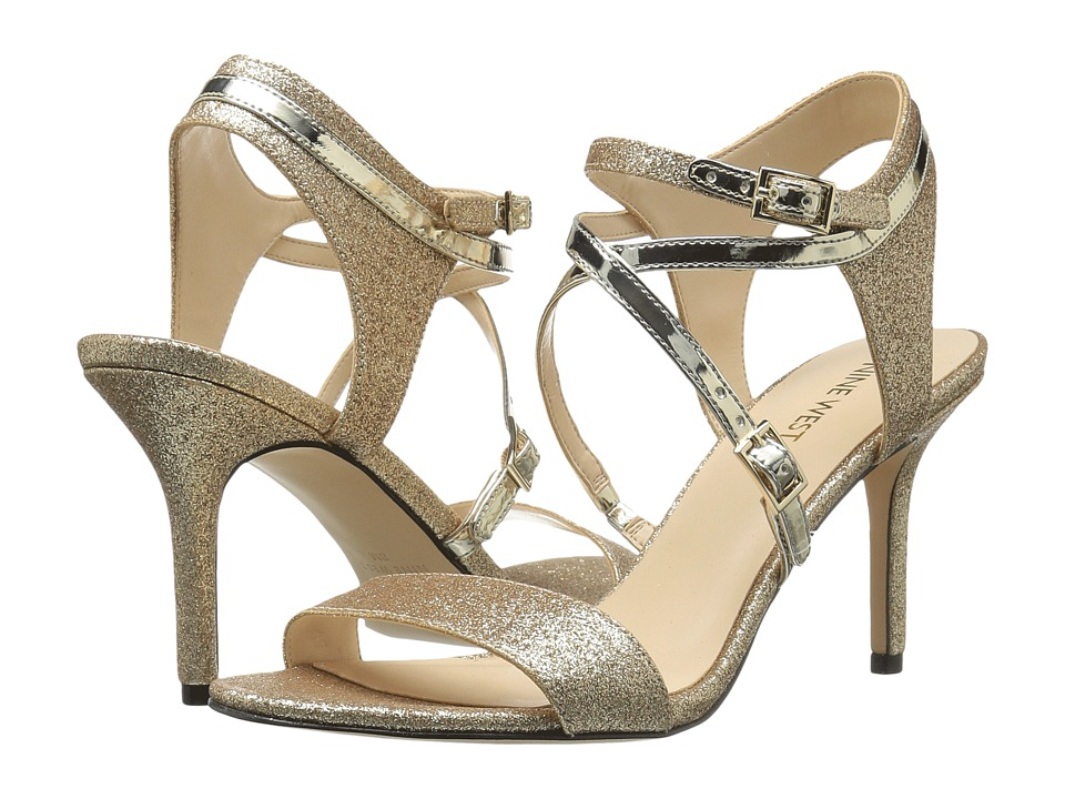 Nine West - Gypsee (Light Gold/Light Gold Synthetic) Women's Shoes