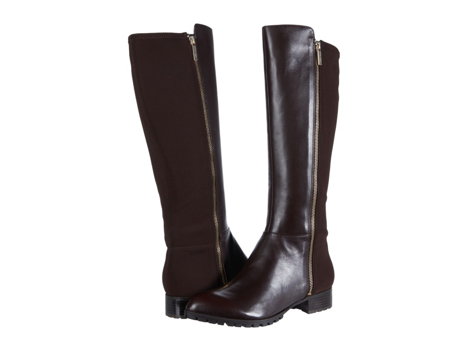 Nine West - Legretto (Dark Brown/Dark Brown Leather) Women's Boots