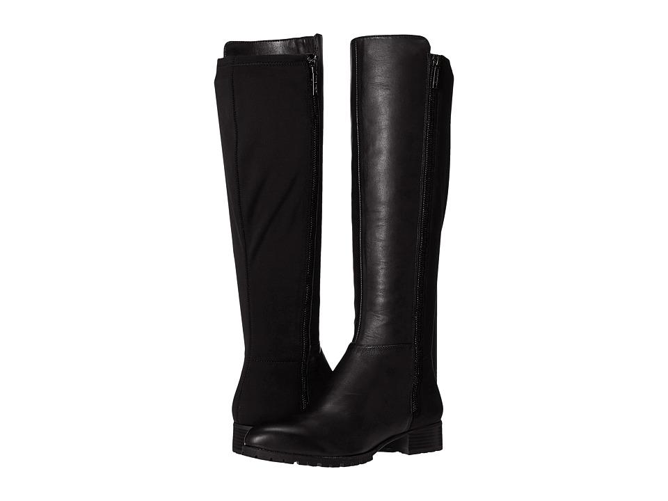 Nine West Legretto (Black/Black Leather) Women