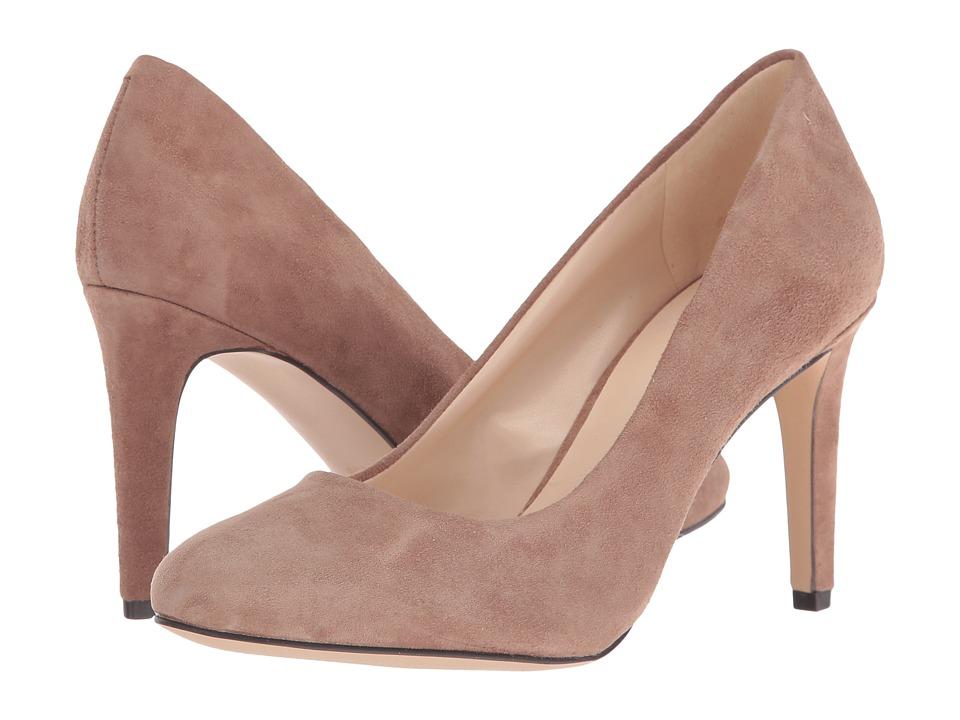 Nine West Handjive Natural Suede High Heels