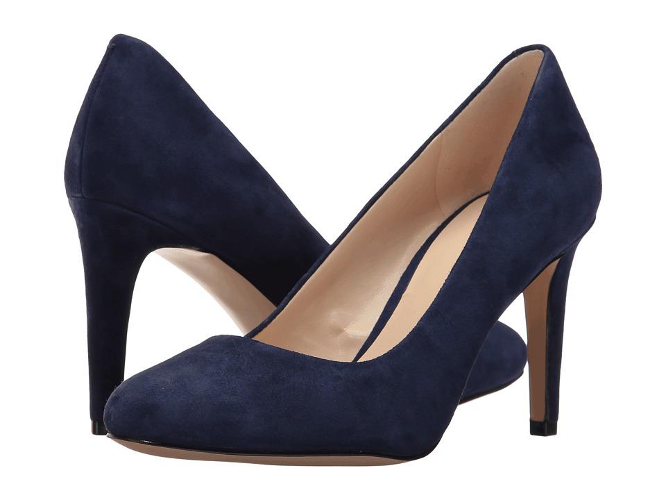 Nine West - Handjive (Dark Blue Suede) High Heels