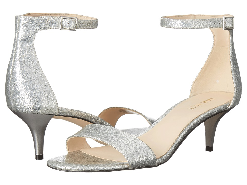 Nine West - Leisa (Silver Synthetic) Women's Shoes