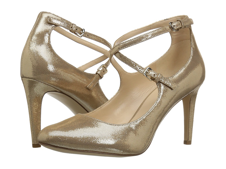 Nine West - Hannley (Light Gold Metallic) Women's Shoes