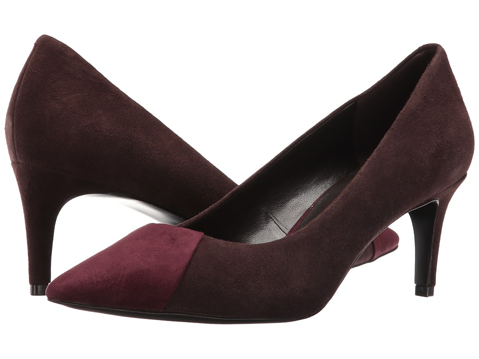 Nine West - Scenery (Dark Brown/Wine Suede) High Heels