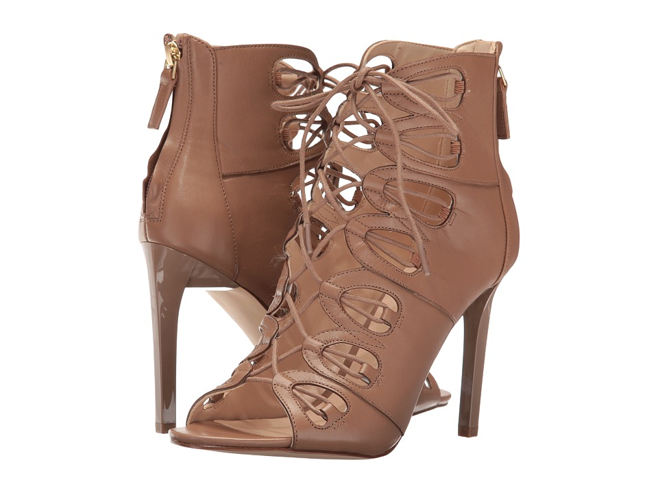 Nine West - Leslie (Natural Leather) High Heels