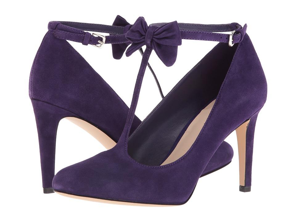 Nine West - Hollison (Dark Purple Suede) High Heels
