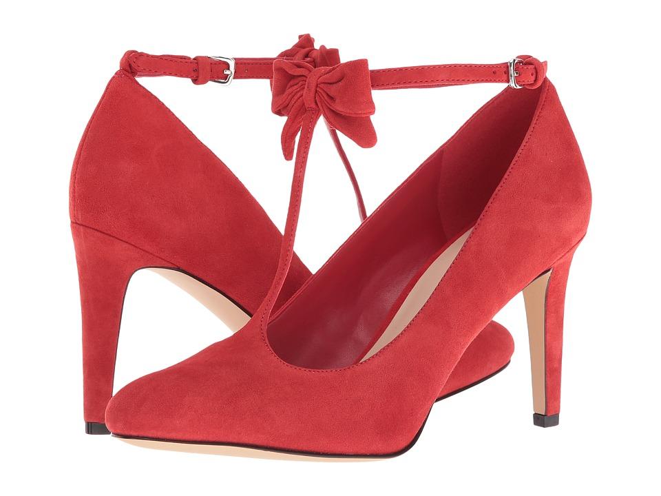 Nine West - Hollison (Red Suede) High Heels