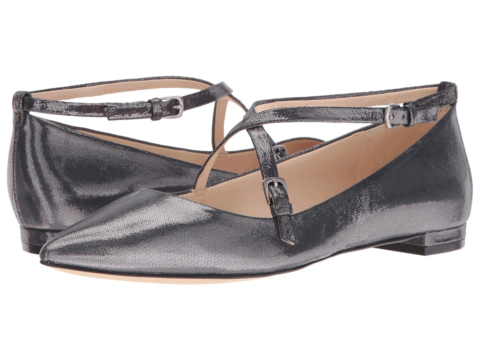 Nine West - Anastagia (Silver Metallic) Women's Shoes