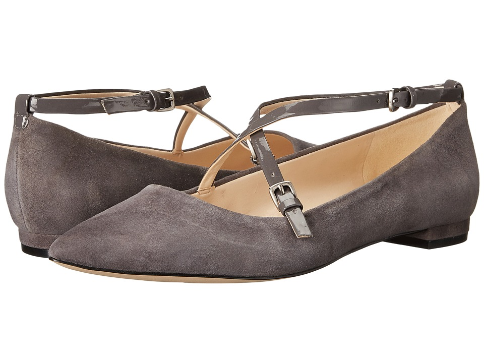 Nine West Anastagia (Dark Grey/Dark Grey Suede) Women