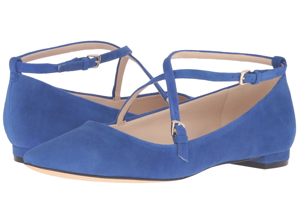 Nine West Anastagia (Blue Suede) Women
