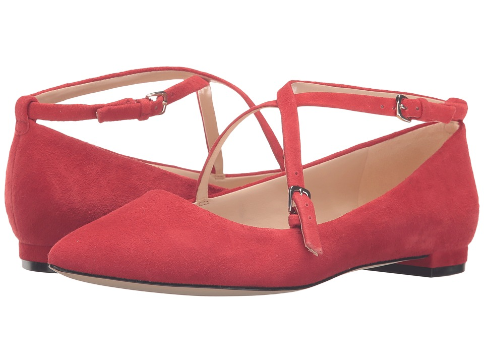 Nine West Anastagia (Red Suede) Women