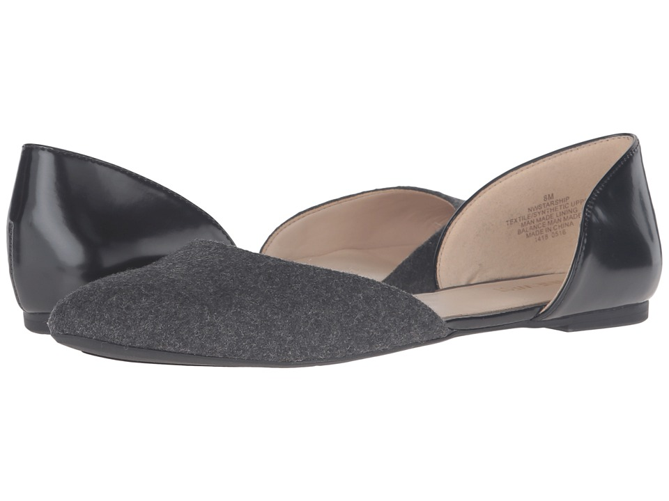 Nine West - Starship (Dark Grey/Black Fabric) Women's Shoes
