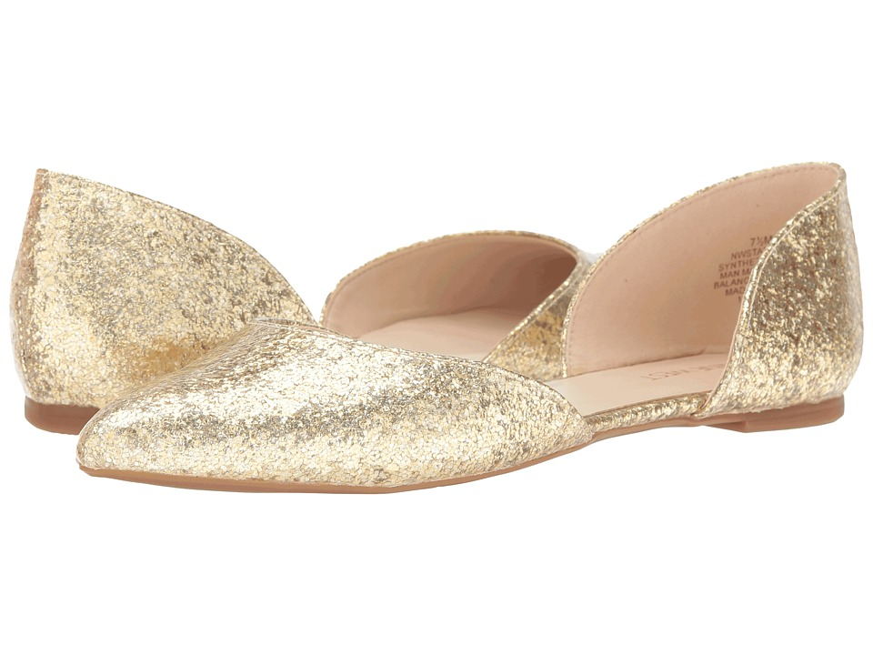 Nine West - Starship 3 (Light Gold Synthetic) Women's Shoes