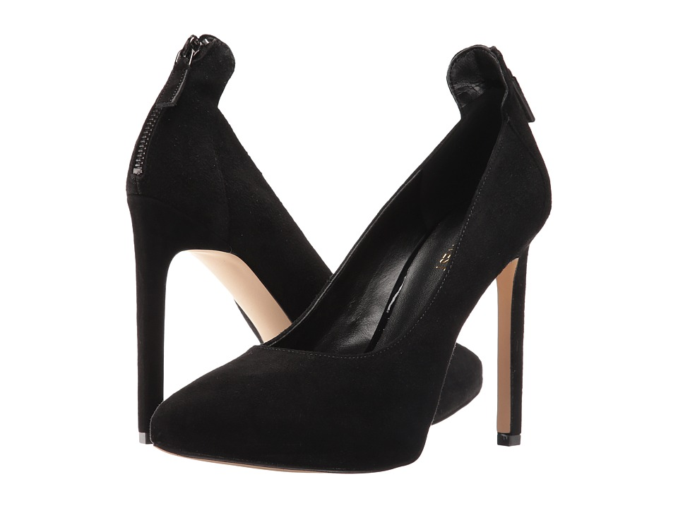 Nine West - Lovelost (Black Suede) High Heels