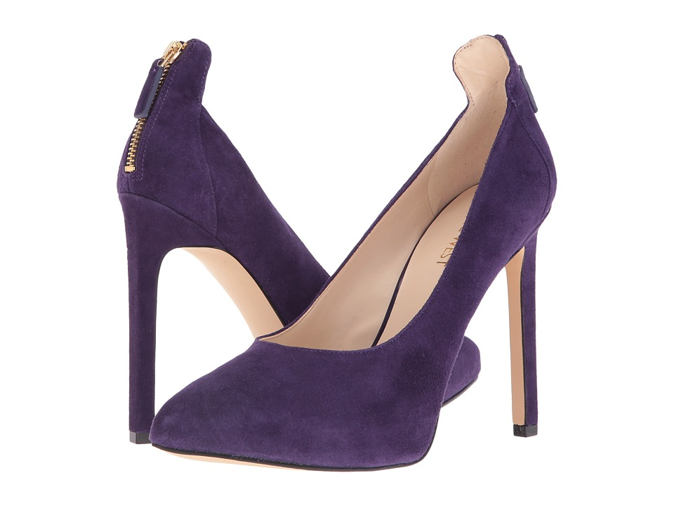 Nine West - Lovelost (Dark Purple Suede) High Heels