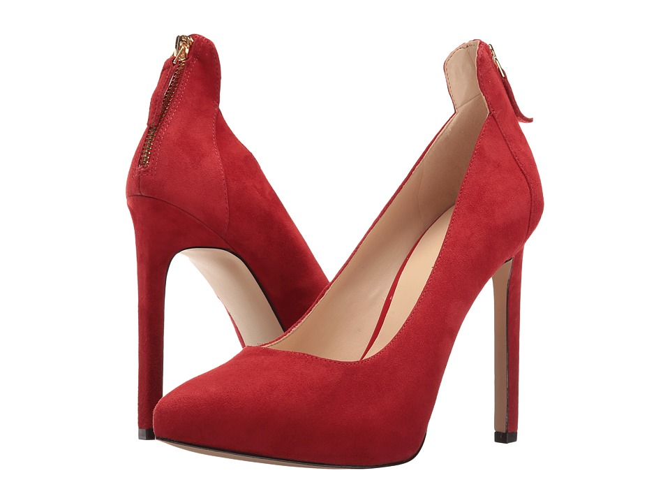 Nine West - Lovelost (Red Suede) High Heels